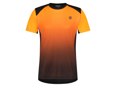 AGU - Cykeltröja med korta ärmar - Lös passform - MTB - Neon Orange