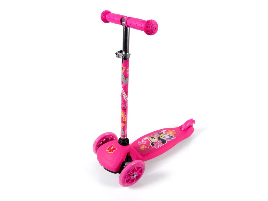 Seven - Minnie Mouse - 3-hjulet løbehjul - Pink - Fra 2 år