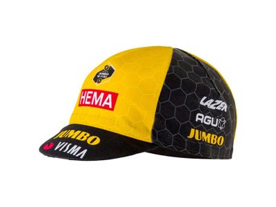 AGU Jumbo Visma Cap - Cykel Cap - Str. One Size