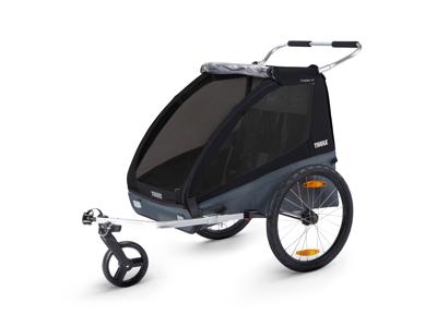 Thule Coaster XT - Multisportstrailer til 2 børn - Black