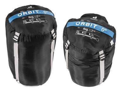 Deuter Orbit 0 - Sovepose til voksne op til 185 cm - Bay Steel