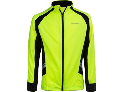 Endurance Verner - Cykel- / MTB -jacka med långa ärmar - Junior - Säkerhetsgul - Storlek 14