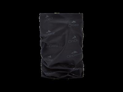 OnGear - Halsedisse - Polyester - Sort med grå logoer
