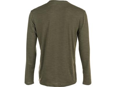 Virtus - Joker - Langærmet T-Shirt - Olive