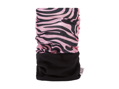 OXC - Halsedisse - 1 st. förpackning - Polyester med fleece - One size - Pink Zebra Snug
