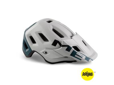 MET Roam Mips - MTB Cykelhjelm - Mat Grå/Petrol Blå