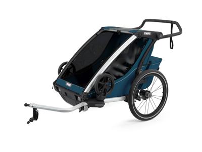 Thule Chariot Cross 2 - Multisportsltrailer til 1-2 børn - Majolica Blue