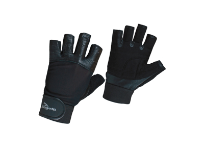 Rogelli Levadia - Fitness handske - Læder med net