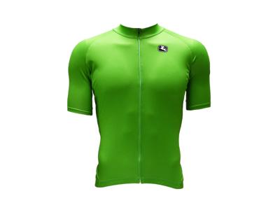 Giordana Pointtrøje - Cykeltrøje - Grøn - Str M