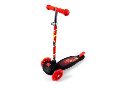 Seven - Bilar - 3-hjulsscooter - Röd / svart - Från 2 år