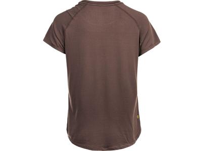 Athlecia - Gaina W S/S Tee - Dame T-shirt - Burnt Rose