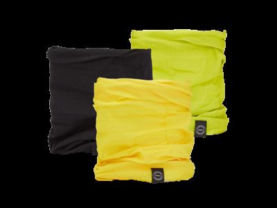 OXC - Halsedisse - 3 st. förpackning - Polyester - En storlek - Grön, svart, gul
