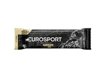 Eurosport Nutrition - Havrebar Vanilje Med Nødder - 45 g