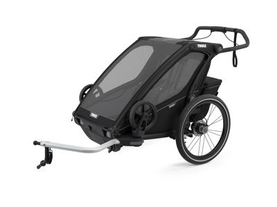 Thule Chariot Sport 2 - Multisportsltrailer til 1-2 børn - Midnight Black