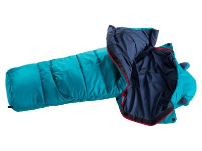 Deuter Little Star - Sovepose til børn op til 95-130 cm - Petrol Navy