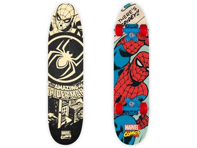 Seven - Spiderman - Skateboard - Sort/rød