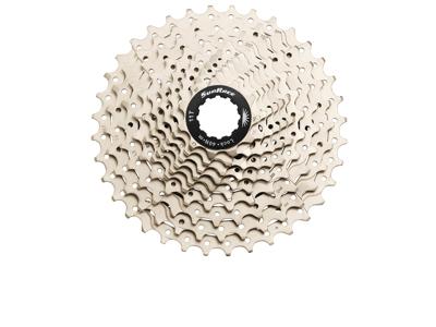 Sunrace CSMS1 - Kassette 10 gear - 11-36 tands - MTB - Til Shimano eller Sram - Metallic