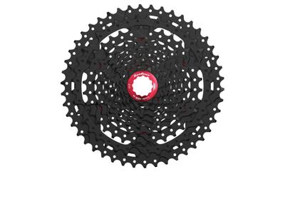 Sunrace CSMX3 - Kassette 10 gear - 11-46 tands - MTB - Til Shimano eller Sram - Sort