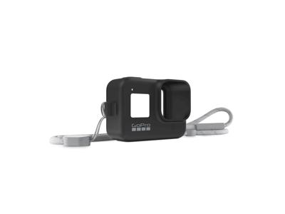GoPro - Sleeve + Lanyard blackout - Til Hero8 kamera - Sort