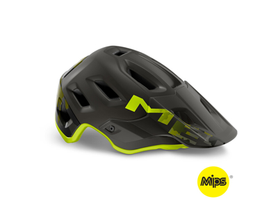 MET Roam Mips - MTB Cykelhjelm - Mat Camo Lime Grøn/Sort