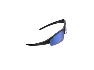 BBB Impress Small BSG-68 - Cykelbriller - Sort m/ blå linse -  Inkl. 3 linser