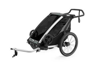 Thule Chariot Lite - Multisportstrailer til 1 barn - Agave