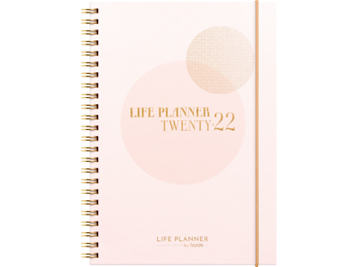Life Planner, Pink, FSC Mix