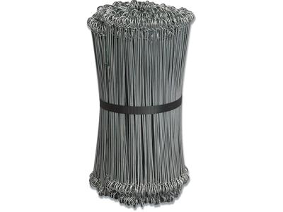 Stålsnøre grå stål 20 cm. 1000 stk.