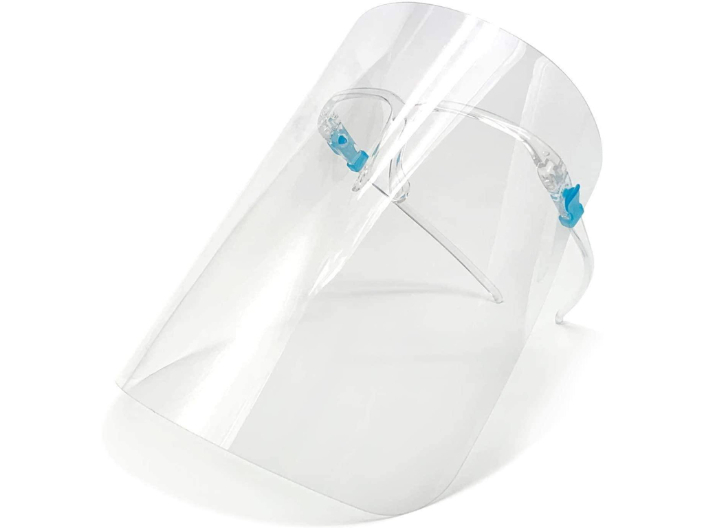 Brillevisir til flergangsbrug CE-mærket