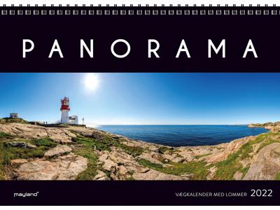 Vægkalender med lommer, Panorama, FSC Mix