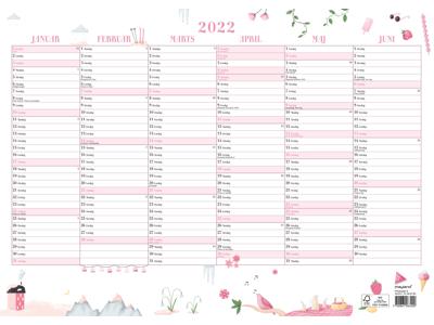 Annies vægkalender A3, FSC Mix
