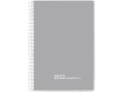 Ugekalender Basic A5 grå