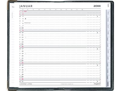 Index Planner, mini månedskalender, REFILL, FSC Mix