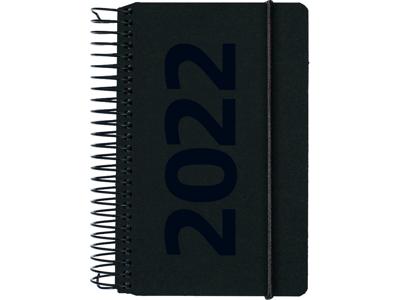 Minispiralkalender, 1-dag, fiberpap, matsort, Årstal, FSC Mi