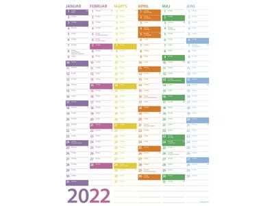 Væg kalendere