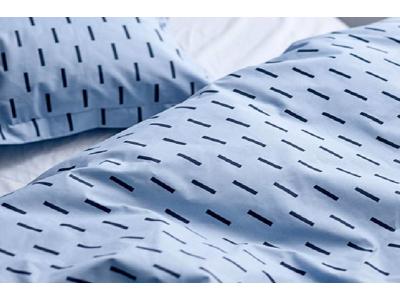 Södahl Sengetøj Renforcévævet i sky blue i 100% bomuld, Grap