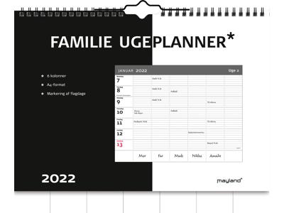 Familie ugeplanner, FSC Mix
