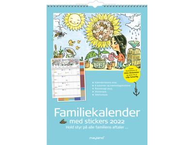 Familiekalender m/illustra. Otto Dickmeiss