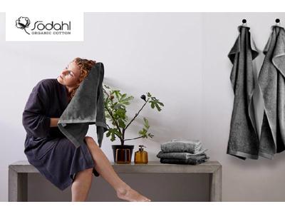 Södahl Håndklæder, Comfort Organic 100% økologisk