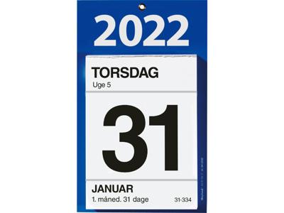 Afrivnings kalender