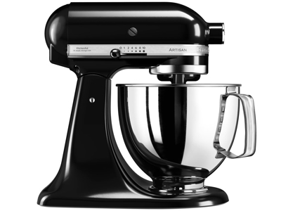 KitchenAid Køkkenmaskine 4,8 L i sort, Artisan