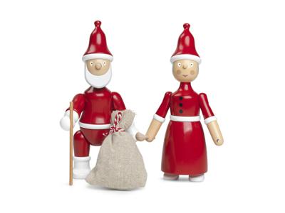 Kay Bojesen Nissemor og Julemand