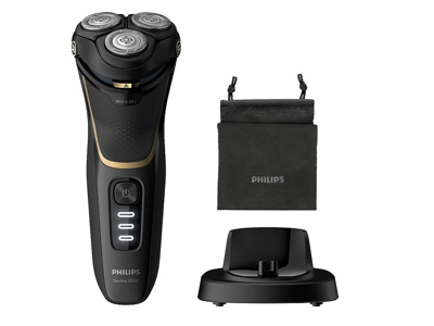 Philips El-shaver til våd/tør barbering