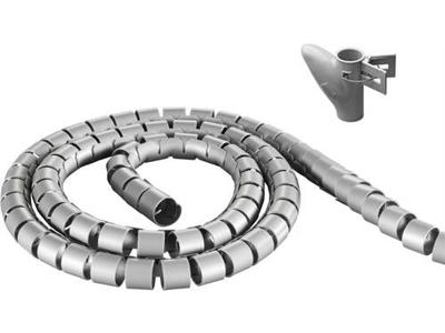 Kabelholder sølv 2,5m