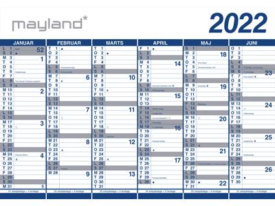 Kæmpekalender 2x6mdr rør PP