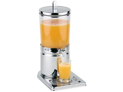 Dispensador de zumo con grifo, 4 litros