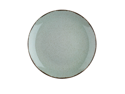 Tallerken flad Ø 25 cm Pearl grøn