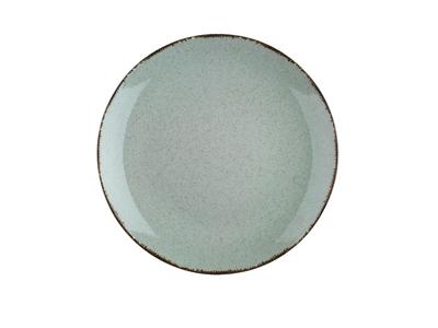 Tallerken flad Ø 27 cm Pearl grøn