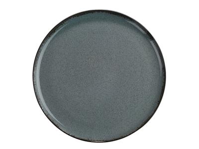 Tallerken flad Ø 24 cm Pearl blå