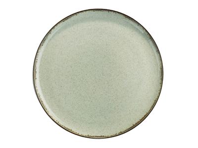 Tallerken flad Ø 24 cm Pearl grøn